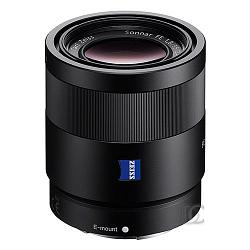 Objetivo ZA montura E para Sony//Minolta Sony SEL55F18Z color negro distancia focal fija 35mm, apertura f//1.8
